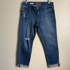 Kut from the Kloth Asher Ankle Straight Leg Jean 8